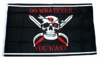 Fahne / Flagge Pirat Do Whatever You Want 90 x 150 cm