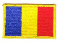 Fahnen Aufnäher Rumänien