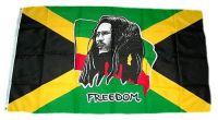Fahne / Flagge Bob Marley 150 x 250 cm