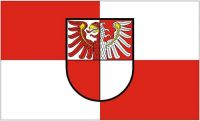 Fahne / Flagge Landkreis Barnim 90 x 150 cm