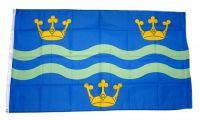 Fahne / Flagge England - Cambridgeshire new 90 x 150 cm