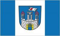 Fahne / Flagge Garz Rügen 90 x 150 cm