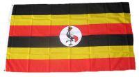 Flagge / Fahne Uganda Hissflagge 90 x 150 cm