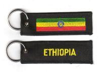 Fahnen Schlüsselanhänger Äthiopien