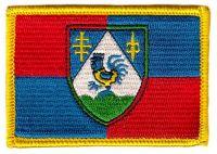 Fahnen Aufnäher Kroatien - Koprivnica Krizevci