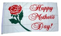Fahne / Flagge Happy Mother´s Day Muttertag 90 x 150 cm