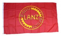 Fahne / Flagge Lanz Bulldog Logo 90 x 150 cm