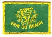 Fahnen Aufnäher Erin go Bragh