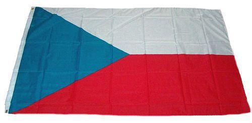 Flagge / Fahne Tschechiche Republik Hissflagge 90 x 150 cm
