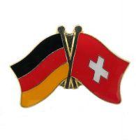 Fahnen Freundschaftspin Anstecker Schweiz