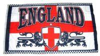 Fahne / Flagge England Löwe Wappen 90 x 150 cm