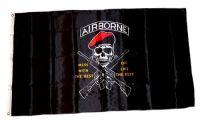 Fahne / Flagge Pirat Airborne 90 x 150 cm