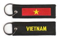 Fahnen Schlüsselanhänger Vietnam