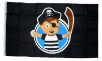 Fahne / Flagge Pirat Boy 90 x 150 cm