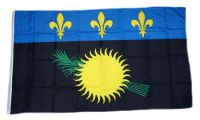 Flagge / Fahne Guadeloupe Hissflagge 90 x 150 cm