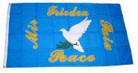 Fahne / Flagge Friedenstaube Peace Taube 90 x 150 cm