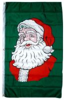 Fahne / Flagge Weihnachten Nikolaus Banner 90 x 150 cm