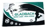 Fahne / Flagge Mönchengladbach Mein Verein 90 x 150 cm