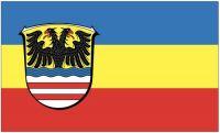 Fahne / Flagge Wetteraukreis 90 x 150 cm