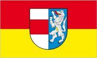 Fahne / Flagge Österreich - St. Poelten 90 x 150 cm