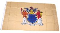 Fahne / Flagge USA - New Jersey 90 x 150 cm
