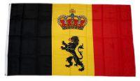 Flagge / Fahne Belgien Royal Hissflagge 90 x 150 cm