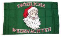 Fahne / Flagge Fröhliche Weihnachten 90 x 150 cm
