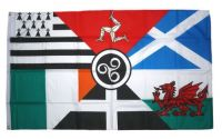 Fahne / Flagge Keltische Nationen 90 x 150 cm