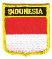 Wappen Aufnäher Fahne Indonesien