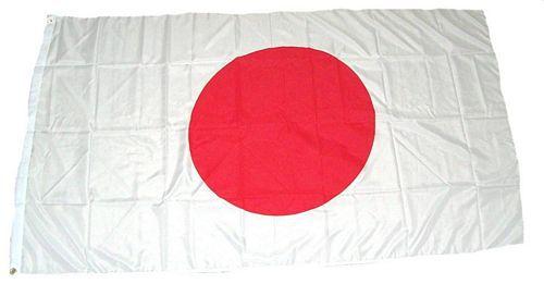 Flagge / Fahne Japan Hissflagge 90 x 150 cm