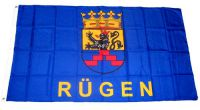 Flagge / Fahne Insel Rügen Hissflagge 90 x 150 cm