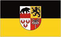 Fahne / Flagge Landkreis Anhalt Bitterfeld 90 x 150 cm