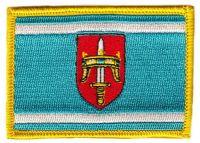 Fahnen Aufnäher Kroatien - Sibenik Knin