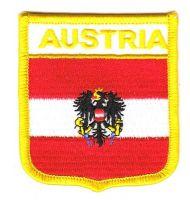 Wappen Aufnäher Fahne Österreich Adler