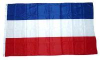 Flagge / Fahne Schleswig Holstein ohne Wappen Hissflagge 90 x 150 cm