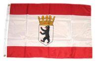 Fahne / Flagge Berlin Krone 150 x 250 cm