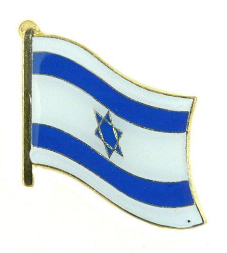 Freundschaftspin Israel Pin NEU Fahne Flagge