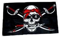 Fahne / Flagge Pirat Messer 90 x 150 cm