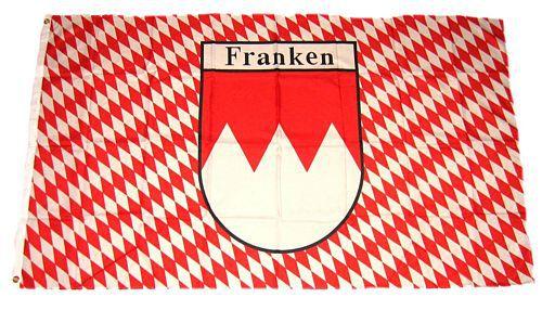 Fahne Flagge Franken durch die Gnade Gottes 90 x 150 cm
