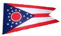 Fahne / Flagge USA - Ohio 90 x 150 cm