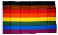 Fahne / Flagge Regenbogen Pride More Colour 90 x 150 cm