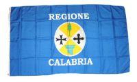 Fahne / Flagge Italien - Kalabrien 90 x 150 cm