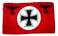Fahne / Flagge Eisernes Kreuz rot 90 x 150 cm