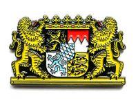 Pin Freistaat Bayern Löwen Wappen Anstecker NEU Anstecknadel