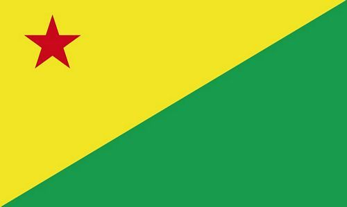 Fahne / Flagge Brasilien - Acre 90 x 150 cm
