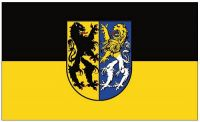 Fahne / Flagge Markkleeberg 90 x 150 cm