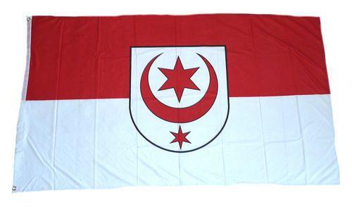 Flagge / Fahne Halle Saale Hissflagge 90 x 150 cm