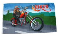 Fahne / Flagge Biker Motorrad NEU 90 x 150 cm