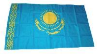 Fahne / Flagge Kasachstan 30 x 45 cm