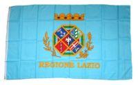 Fahne / Flagge Italien - Latium Lazio 90 x 150 cm